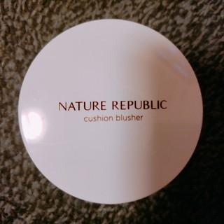 ネイチャーリパブリック(NATURE REPUBLIC)のNATURE REPUBLIC クッションブラッシャー チーク02(チーク)