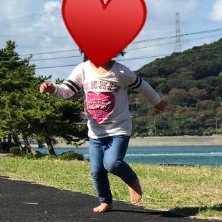 ジェニィ(JENNI)のJENNI♡ストーン♡ロゴ♡ロンT♡100(Tシャツ/カットソー)