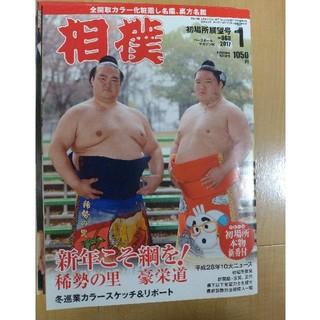 相撲 2017年 一年分 ベースボールマガジン社(相撲/武道)