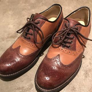 ムジルシリョウヒン(MUJI (無印良品))の紳士革靴 ウイングチップ(ドレス/ビジネス)