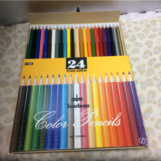 トンボエンピツ(トンボ鉛筆)のトンボ 24色 色鉛筆 未使用(色鉛筆 )