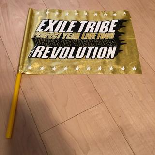 エグザイル トライブ(EXILE TRIBE)のREVOLUTION フラッグ (男性タレント)