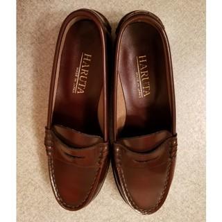ハルタ(HARUTA)のHARUTA ハルタ ローファー  23.5  EE  本革(ローファー/革靴)