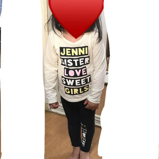 ジェニィ(JENNI)のJENNI♡ラメ入り♡ロンT♡100(Tシャツ/カットソー)