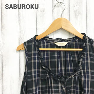 サブロク(SABUROKU)の【SABUROKU】チェックチュニックワンピース サブロク(チュニック)