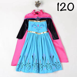 Disney - エルサ ドレス プリンセスドレス アナ雪 120