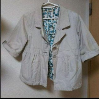 サブロク(SABUROKU)のサブロク 五分袖 ショート丈ジャケット(テーラードジャケット)