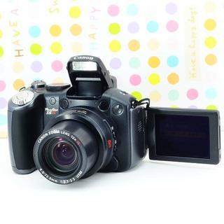 キヤノン(Canon)の✨自撮り&スマホ転送OK✨CANON Power Shot S5 IS(コンパクトデジタルカメラ)