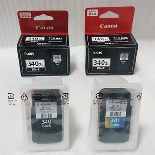 キヤノン(Canon)のCanon 340 341 340XL  4個セット(PC周辺機器)