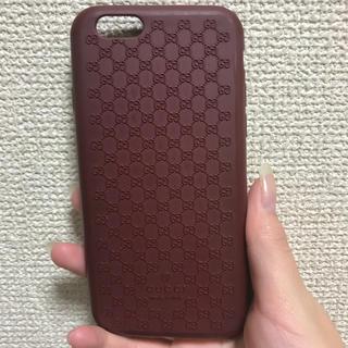 グッチ(Gucci)のGUCCI iPhoneケース(モバイルケース/カバー)