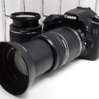 キヤノン(Canon)の【超人気★】Canon 70D ダブルレンズセット(デジタル一眼)