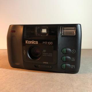 コニカミノルタ(KONICA MINOLTA)のkonica mt-100 フィルムカメラ bigmini (フィルムカメラ)