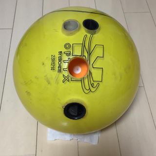 ボウリングボール エボナイト OPTYX 15P(ボウリング)