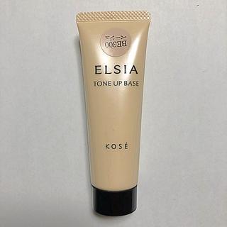 エルシア(ELSIA)のKOSE エルシア肌色トーンアップ化粧下地BE300 ベージュ(化粧下地)