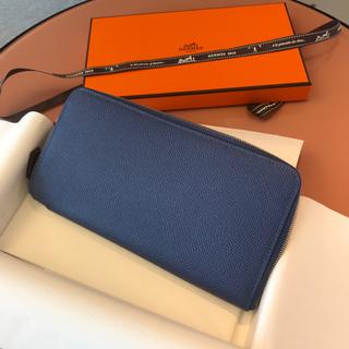2d09fd57868b エルメス(Hermes)のエルメス シルクイン ブルーブライトン 長財布 アザップ(財布)