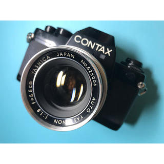 キョウセラ(京セラ)の貴重! CONTAX 139 QUARTZ & YASHICA レンズ(フィルムカメラ)