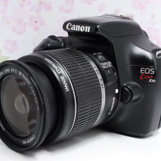 キヤノン(Canon)の★初心者最適機種★Canon EOS kiss x50 レンズセット(デジタル一眼)
