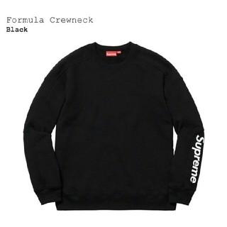 シュプリーム(Supreme)のSupreme Crewneck Formula Crewneck 黒 S(スウェット)