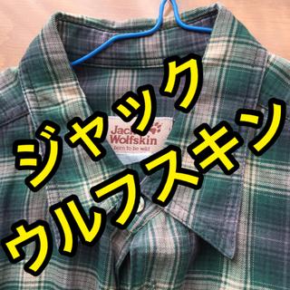 ジャックウルフスキン(Jack Wolfskin)のJack Wolfskin ジャックウルフスキン 長袖シャツ チェックシャツ(シャツ)