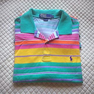 Ralph Lauren - Polo by Ralph Lauren(ストライプ);ポロシャツ Size L