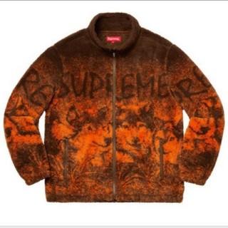 送込 Sサイズ Supreme Wolf Fleece Jacket