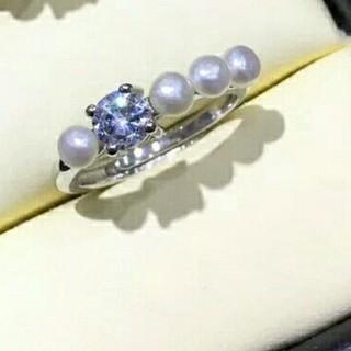 タサキ(TASAKI)の淡水パールリング ベビーパールリング(リング(指輪))