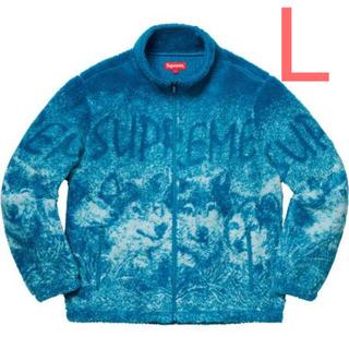 シュプリーム(Supreme)の【新品未使用】Supreme Wolf Fleece Jacket L(その他)