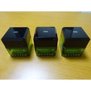 ナンバースリー(no3(Number Three))のデューサー ミディアムハード ワックス 4  80g×3個 新品未使用(ヘアワックス/ヘアクリーム)