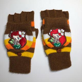 ディズニー(Disney)の送料込み♡ディズニー  子供用 アリエル 手袋(手袋)