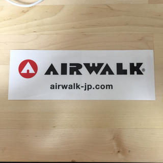 エアウォーク(AIRWALK)のAIR WALK ステッカー(しおり/ステッカー)