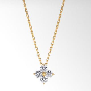 スタージュエリー(STAR JEWELRY)の0.13ct ダイヤモンド(ネックレス)