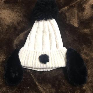 ユニバーサルスタジオジャパン(USJ)のユニバ スヌーピー ニット帽(ニット帽/ビーニー)
