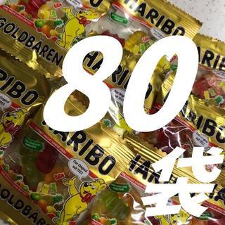 コストコ(コストコ)の◆ハリボーグミ◆ いーっぱい80袋 そのまま購入OK‼(菓子/デザート)