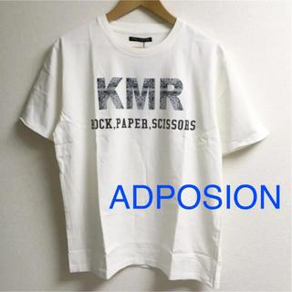 アドポーション(ADPOSION)の新品 ADPOSION ブリングリーズ メンズ ロゴ Tシャツ アドポーション(Tシャツ/カットソー(半袖/袖なし))