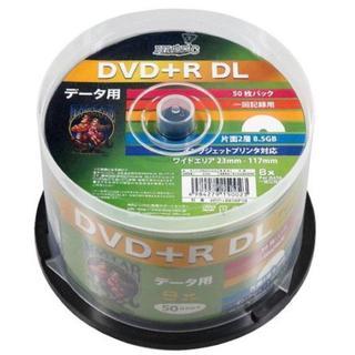 HI-DISC データ用DVD+R HDD+R85HP50 (DL/8倍速/50(DVDレコーダー)