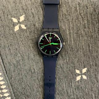 スウォッチ(swatch)のスウォッチ swatch ニュージェント スイス製 腕時計 SUON700(腕時計(アナログ))