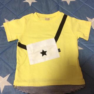 プティマイン(petit main)のプティマイン  半袖Tシャツ 100㎝(Tシャツ/カットソー)