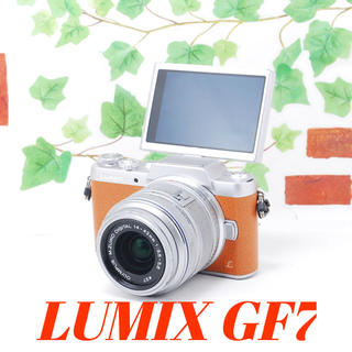 Panasonic - ❤️Wi-Fi&自撮り❤️高画質&フルHD❤️LUMIX GF7
