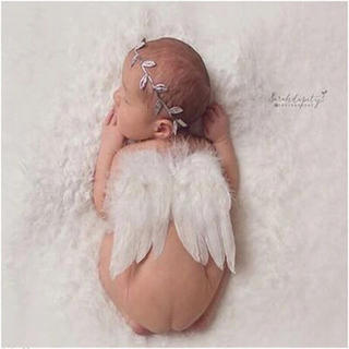 天使の羽 ニューボーンフォト シルバー