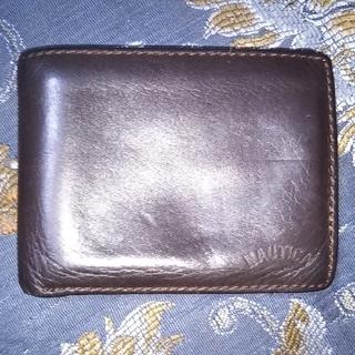 ノーティカ(NAUTICA)のメンズ中古折り財布NAUTICAフル本革(折り財布)