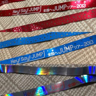 ヘイセイジャンプ(Hey! Say! JUMP)のHey! Say! JUMP 銀テ (アイドルグッズ)