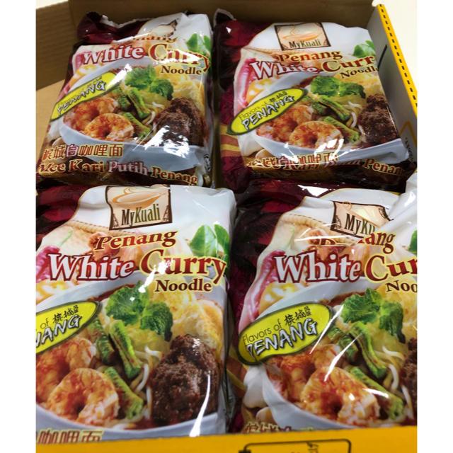ペナン ホワイトカレーヌードル セット 食品/飲料/酒の加工食品(インスタント食品)の商品写真