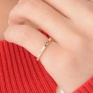 ウェーブピンキーファランジリング シルバー(リング(指輪))