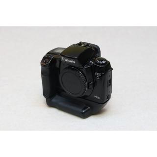 キヤノン(Canon)の美品!!CANONの名機 EOS 5QD 縦グリップセット(フィルムカメラ)