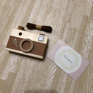 petitmignon 木のカメラ(おもちゃ/雑貨)