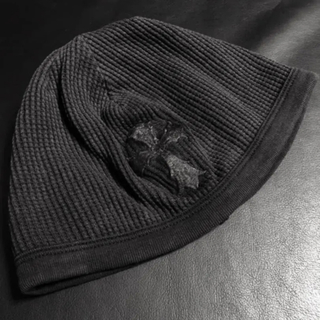 クロムハーツ(Chrome Hearts)のクロムハーツ クロス ニット帽 ワッフル(ニット帽/ビーニー)