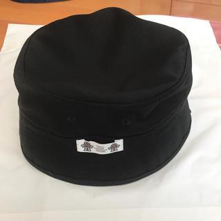 ジーユー(GU)の即購入〇 バケットハット STUDIO SEVEN GU BLACK 黒(ハット)