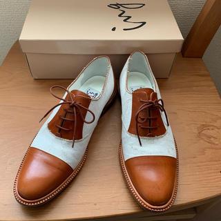 イング(ing)の【ing】レースアップ ドレスシューズ オックスフォード マニッシュ おじ靴(ローファー/革靴)