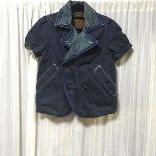 キャピタル(KAPITAL)のkapital キャピタル Pコート ジャケット 半袖 デニムジャケット(その他)