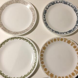 コレール(CORELLE)の美品 CORELLE ディナー プレート 4枚 セット 26センチ(食器)